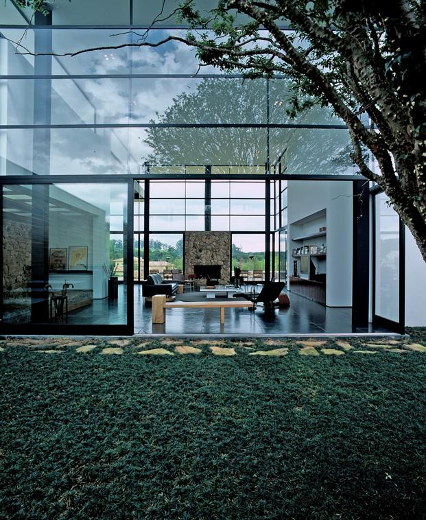 casa do brasil arquitectura y cristal diariodesign