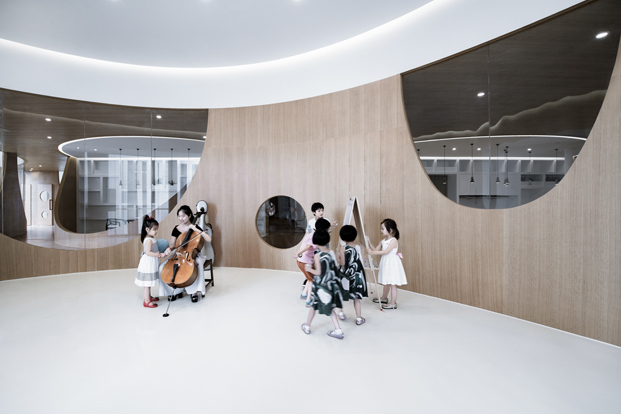 escuela musica Rockery for play ARCHSTUDIO diariodesign