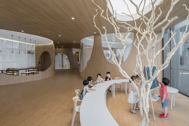 escuela Rockery for play ARCHSTUDIO aula manualidades diariodesign