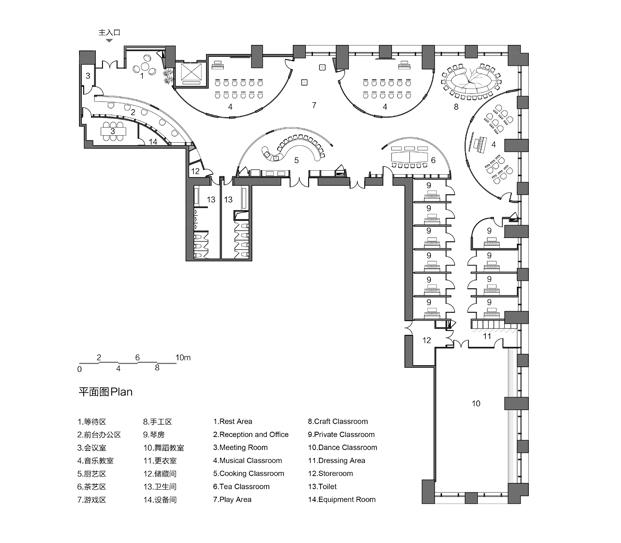 planos escuela Rockery for play ARCHSTUDIO diariodesign