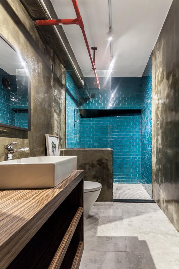 Warehouse HM casa loft Lim Lu duchas diariodesign