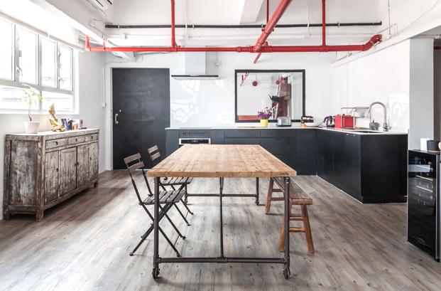 Warehouse HM casa loft Lim Lu cocina diariodesign