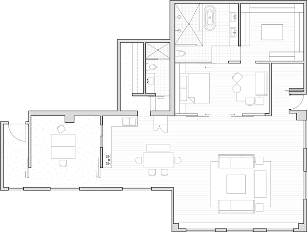 Warehouse HM casa loft Lim Lu planos diariodesign