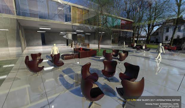 wonderwall hotel ganadora concursos de diseno neolight diariodesign