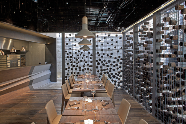 Yaoyue Restaurant Xiamen Fancy Design Decoration reservado paneles diariodesign