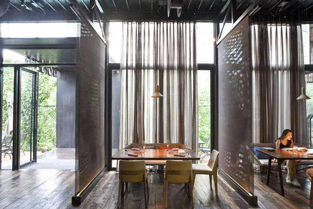 Yaoyue Restaurant en China de Xiamen Fancy Design Decoration reservado paneles diariodesign