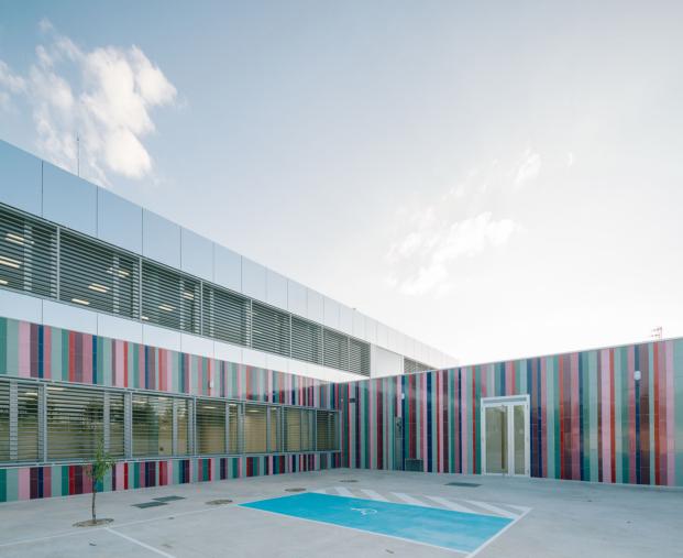 ablm arquitectos colegio villares de la reina salamanca diariodesign exterior