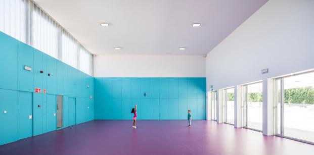 ablm arquitectos colegio villares de la reina salamanca diariodesign polideportivo