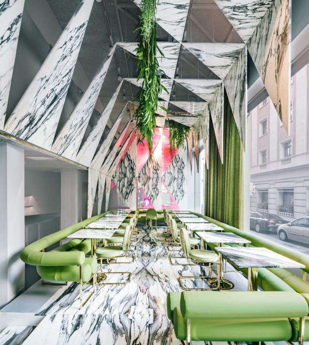 restaurante Rómola diseno de Andrés Jaque en madrid diariodesign