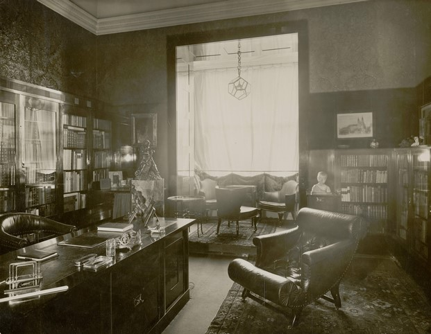Despacho de la casa Friedman de adolf loos diariodesign