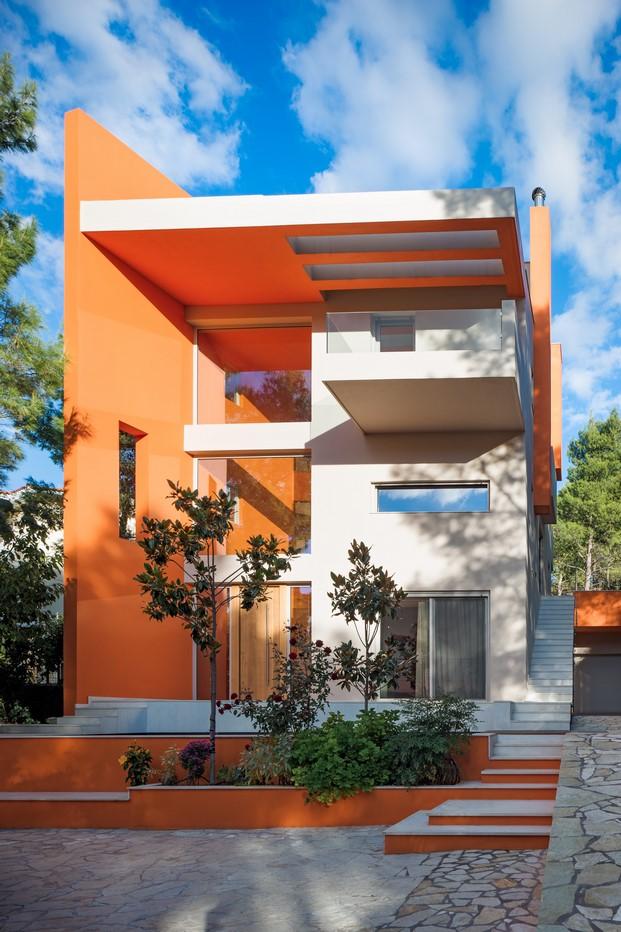 casa de colore en grecia diariodesign