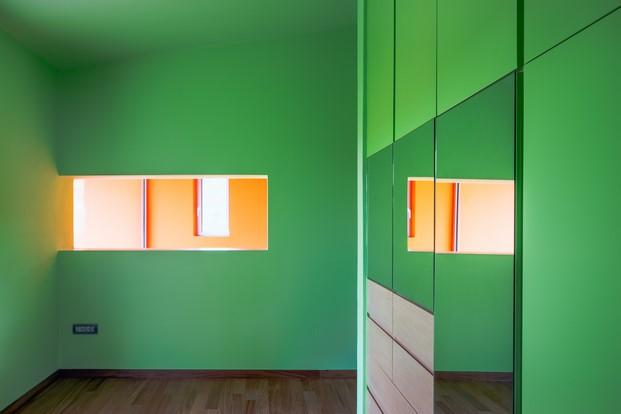 casa de colores en grecia de Kipseli Architects diariodesign