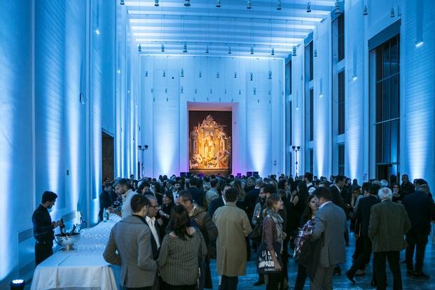 Fiesta de inauguración de la exposición en la Triennale de ied diariodesign