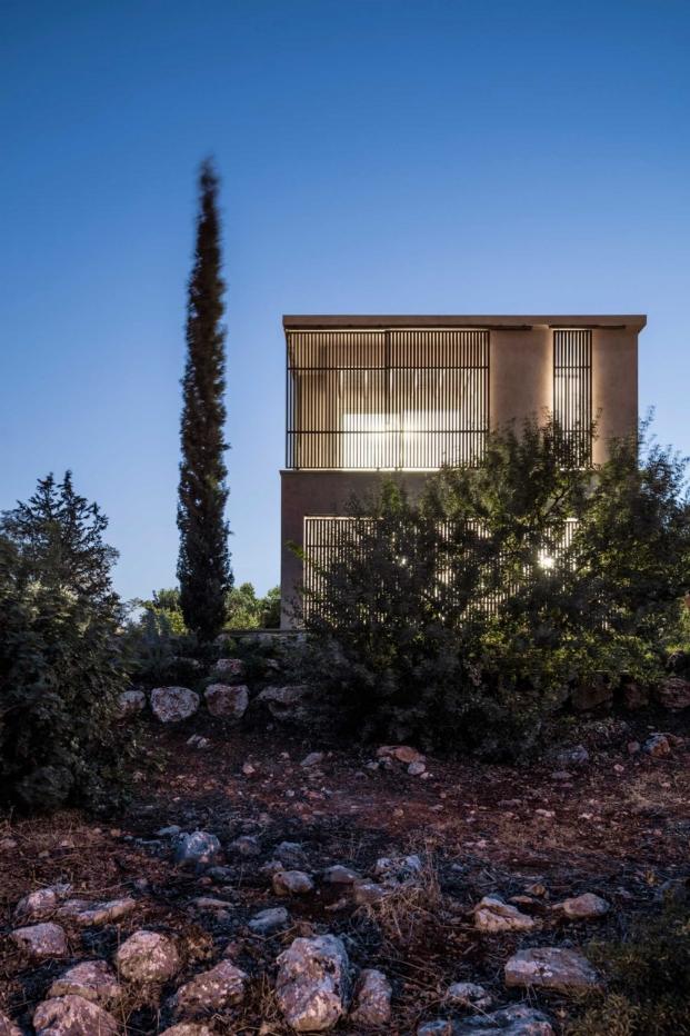 celosia vivienda en galilea disenada por golany architects diariodesign