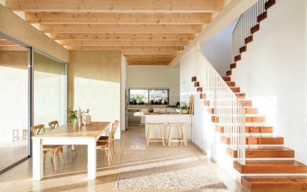 cocina en galilea disenada por golany architects diariodesign