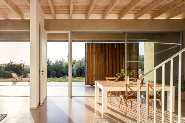 planta baja en galilea disenada por golany architects diariodesign