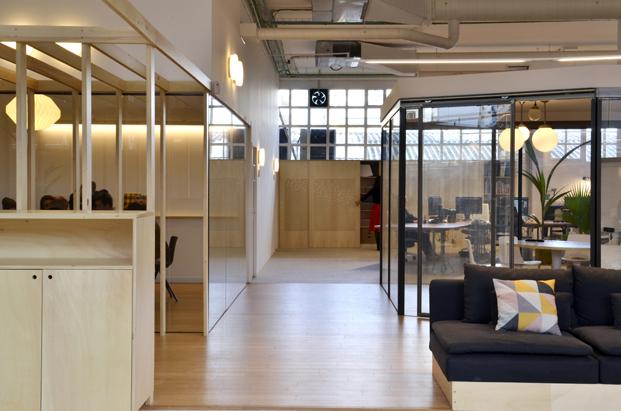 oficinas image de marque Petita Dimensio divisiones diariodesign