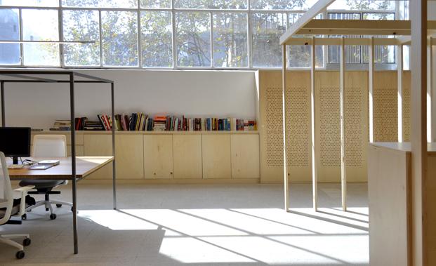 oficinas image de marque de Petita Dimensio bambu diariodesign
