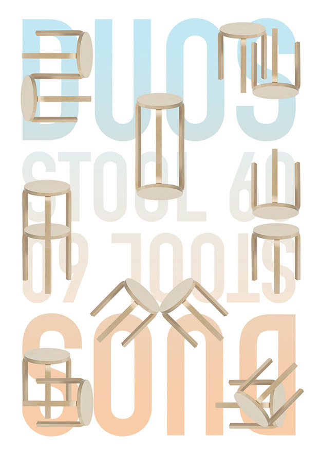intervencion solidaria taburete de artek aalto lasource diariodesign