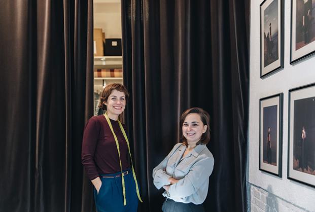 Gimena Gonzalez y Sílvia Gausset de lagarta moda femenina stories slowkind mybarrio diariodesign