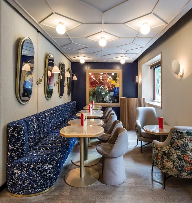 restaurante xanveri del chef cesar anca en Madrid obra de estudihac diariodesign