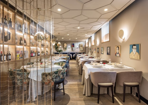 restaurante xanveri del chef cesar anca en Madrid en chamberí obra de estudihac diariodesign