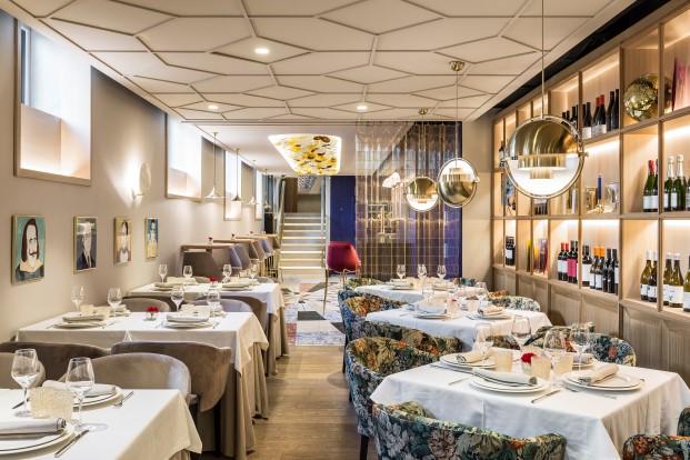 restaurante xanveri del chef cesar anca en Madrid en chamberi obra de estudihac diariodesign