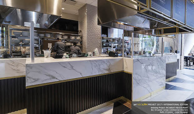 ricarda restaurante en toronto ganadora concursos de diseno neolight diariodesign