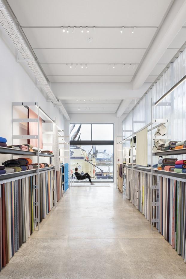 textiles showroom kvadrat copenhague hermanos bouroullec diariodesign