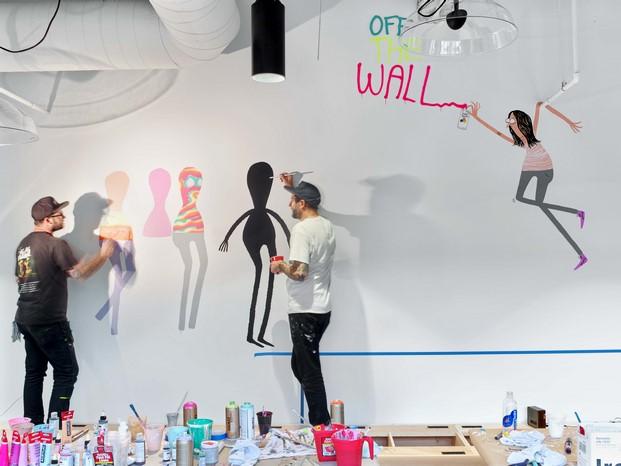 grafitis nuevas oficinas vans en california diariodesign