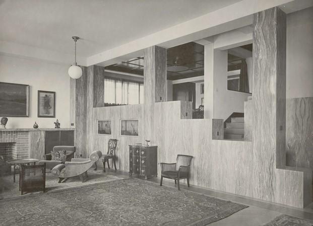 Interior Casa Muller adolf loos diariodesign