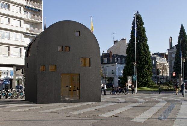 acuarela de ettore sottsass bienal arquitectura Orleans diariodesign
