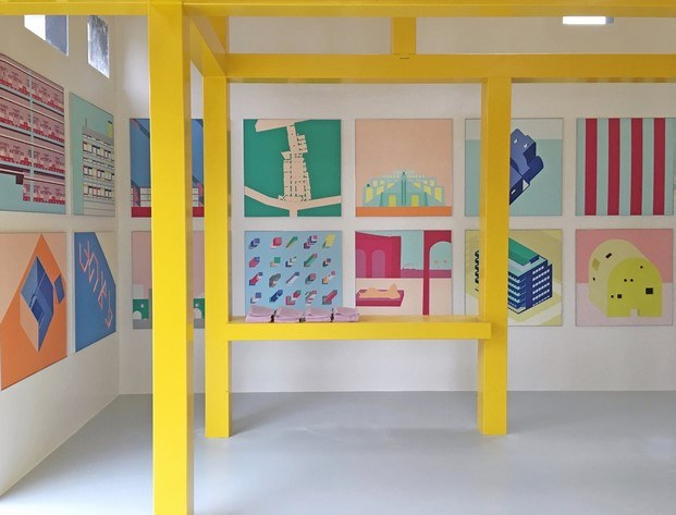 ettore sottsass bienal arquitectura Orleans diariodesign