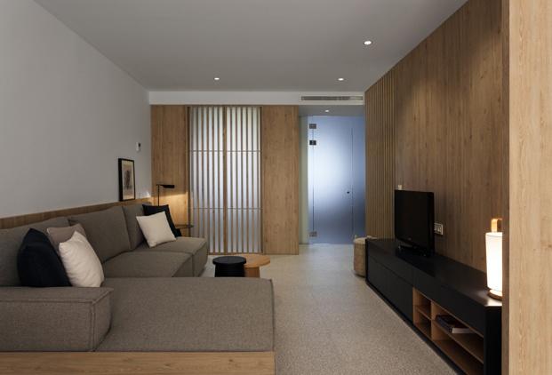 salon de apartamento en santa pola en playa Varadero de Manuel Garcia estudio diariodesign