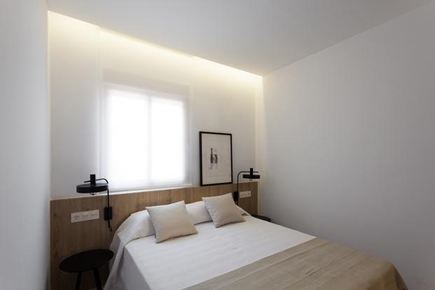 habitacion de apartamento en santa pola en playa Varadero de Manuel Garcia estudio diariodesign