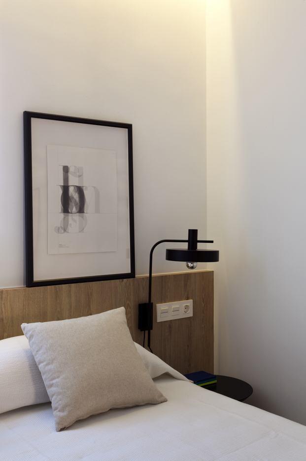 cabecero apartamento en santa pola en playa Varadero de Manuel Garcia estudio diariodesign