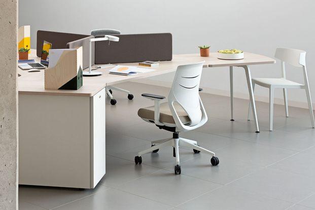 Efit silla de Actiu taburete azul diariodesign