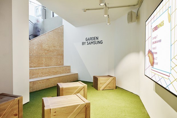 multiespacio ImaginCafe barcelona garden by samsung diariodesign