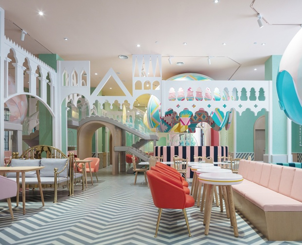 Neobio X Living restaurante infantil en china diariodesign
