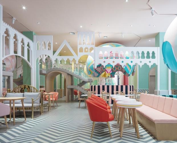 Neobio X Living restaurante infantil en china diariodesign