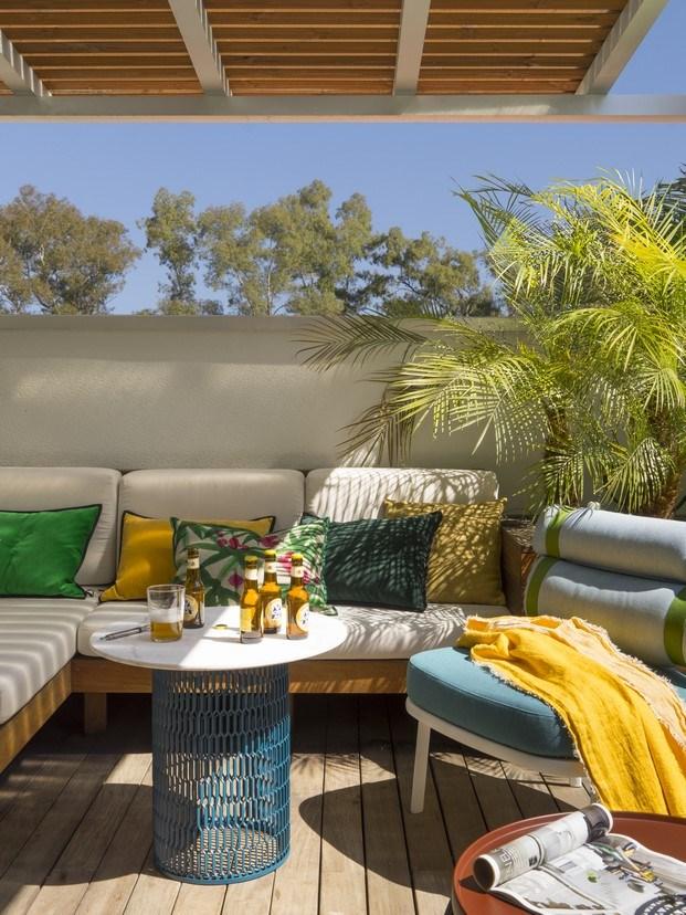 atico en gracia de meritxell ribe the room studio terraza diariodesign