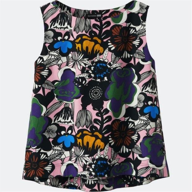 blusa coleccion de marimekko y moda uniqlo diariodesign
