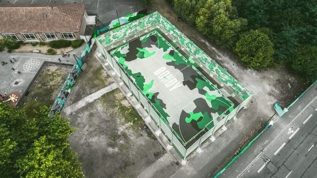 campo de futbol bondy en paris vista aerea diariodesign