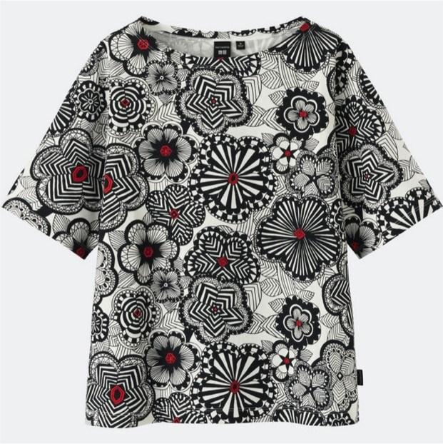 camisa de la coleccion de marimekko y moda uniqlo diariodesign