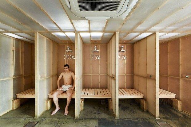 hotel sauna capsula en tokio diariodesign