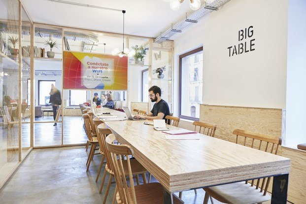 multiespacio ImaginCafe barcelona workrooms diariodesign