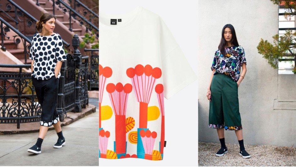 coleccion de marimekko y moda uniqlo diariodesign
