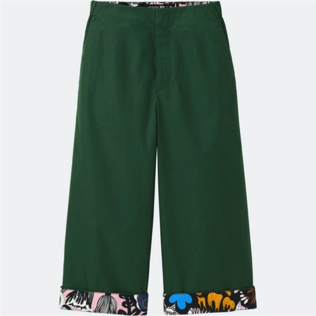coleccion de marimekko y moda uniqlo pantalones diariodesign