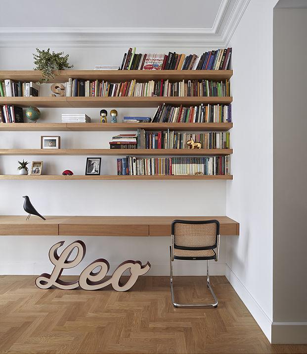 piso de estilo vintage en el ensanche de valencia libreria diariodesign
