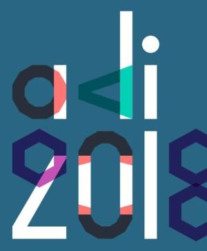 premios adi 2018 cartel diariodesign
